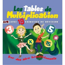 Les tables de multiplication par Muriel Louveau - MP3